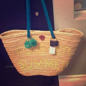 Handbags - Z&L Free People Forever Summer Beach Basket Bag